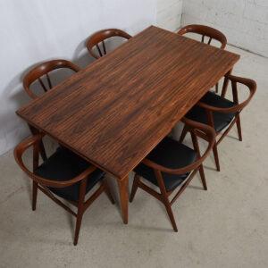 Danish Modern Colossal Niels Møller Rosewood Dining Table