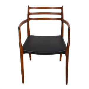 Set of 6 Dining Chairs (2 Arm, 4 Side) by Niels Moller