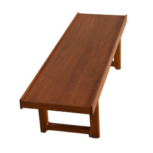Danish Modern Teak Torbjorn Afdal Table / Bench