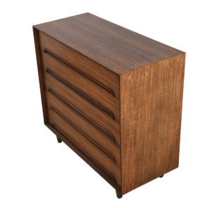 Milo Baughman Primavera Wood – Tall & Wide Dresser