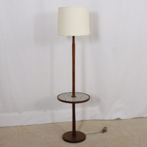 Martz Floor Lamp w/ Side Table