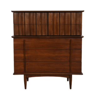 Mid Century Modern Walnut Dresser / Chest