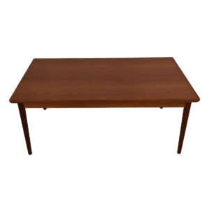 Colossal Danish Teak Expanding Dining Table w/ Pull-Out Leaves