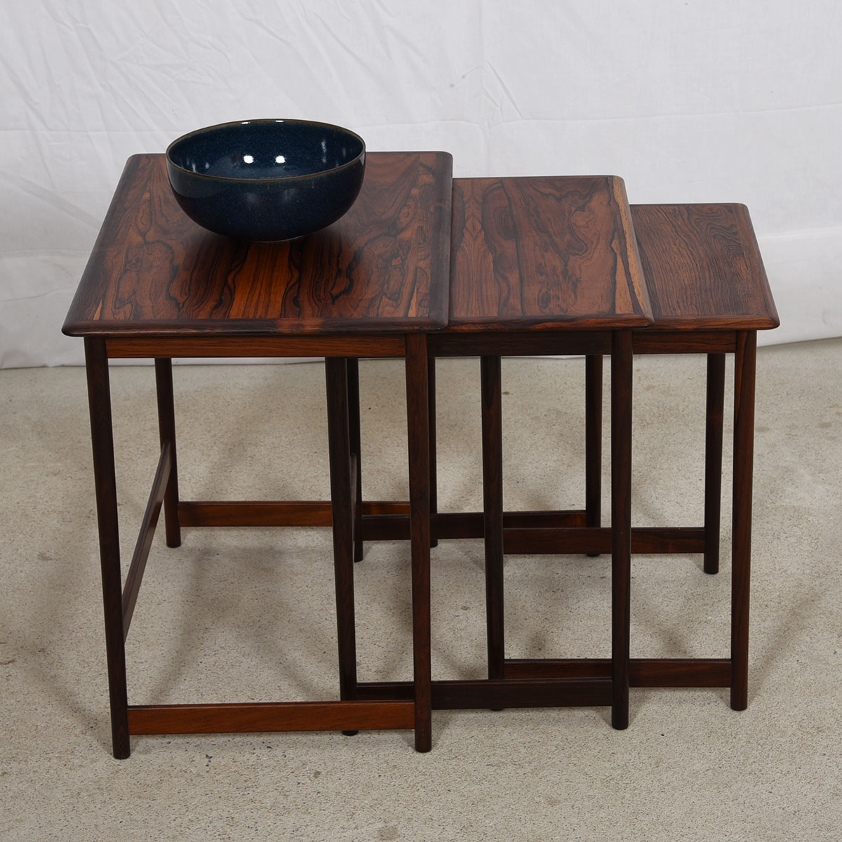 Rosewood Nesting Tables Gallery Table Decoration Ideas