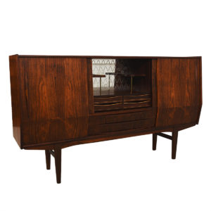 Rare Danish Modern Rosewood Highboard
