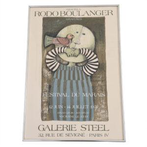 Festival Du Marais Galerie Steel Exhibition Poster