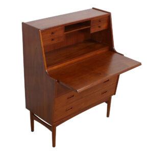 Danish Modern Teak Secretary-Desk / Dresser