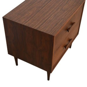 Foster McDavid Mid Century Walnut Drawer Chest / Nightstand