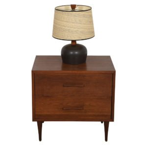Foster McDavid Walnut 'Guest-Bedroom' Mini-Chest / Nightstand