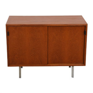 Florence Knoll Low Compact Office Credenza / Storage Cabinet