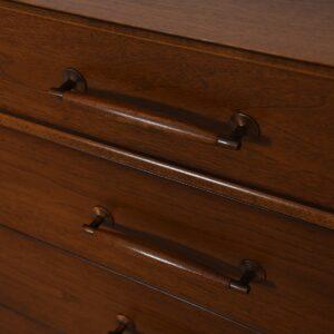 Mid Century Modern Walnut Sideboard / Dresser