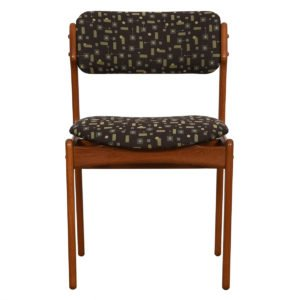 Set of 6 Designer Danish Teak Dining Chairs