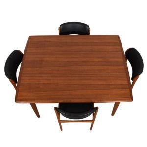 Kofod Larsen Danish Deep Expanding Teak Dining Table