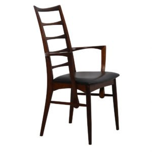 Set of 8 Koefoeds Hornslet Danish Modern Rosewood Dining Chairs