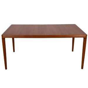 Danish Teak Extra-Large Expanding Dining Table w/ 2 Leaves