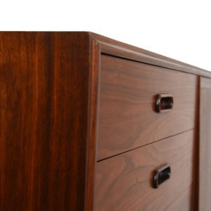 Mid-Century Modern Walnut Gentleman's Chest/Dresser