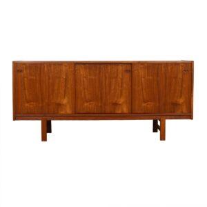 Slim Danish Kofod-Larsen Teak Sideboard / Room Divider