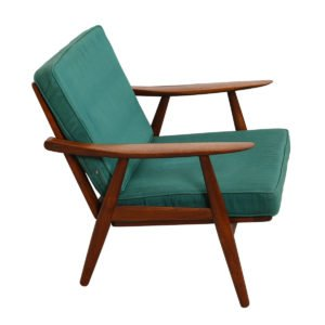 Hans Wegner Danish Modern Teak Sofa & Chair Set