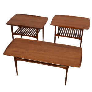 47″ Tove & Edvard Kindt-Larsen for France & Sons Apt-Sized Coffee Table