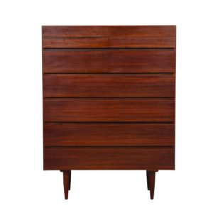 Danish Modern Rosewood Tall Dresser / Organizer