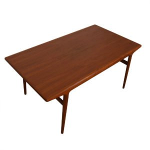 Niels Moller Danish Modern Teak Expanding Dining Table