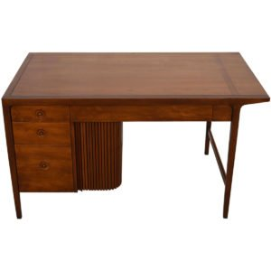 1950's John Van Koert Counterpoint Collection Desk w/ Tambour Door