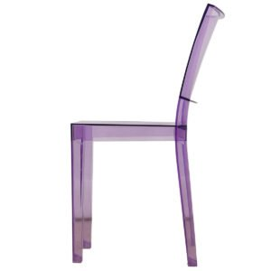 Petite Purple Acrylic Chair