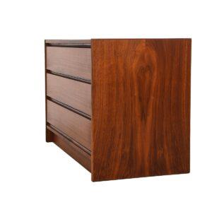 Danish Modern Walnut 3-Drawer 'Guest Bedroom Chest'