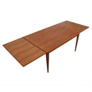Danish Modern Large Teak Dining Table