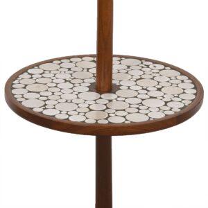 Martz Floor Lamp w/ Side Table