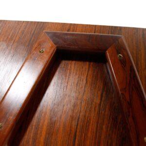 Danish Modern Rosewood Sewing Table / Cart