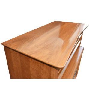 Atomic Mid-Century Walnut Dresser