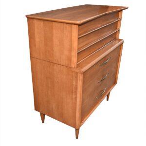 Mid-Century Modern Walnut Tall Dresser