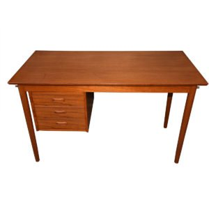 Danish Teak Desk w/ Adjustable Drawers