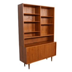 Danish Teak Display Cabinet / Bookcase