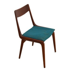 Boomerang Danish Dining Chairs – Set of 4 by Erik Christensen