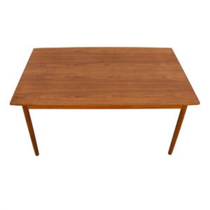Randers Mid-Sized Danish Teak Expanding Dining Table