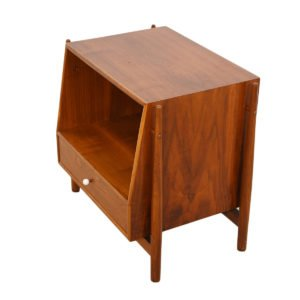 Drexel Walnut Declaration Nightstand