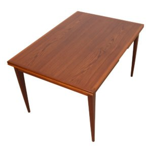 Danish Modern Niels Otto Moller Teak Expanding Dining Table