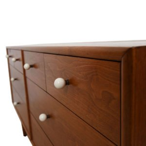 8-Drawer Drexel Walnut Dresser