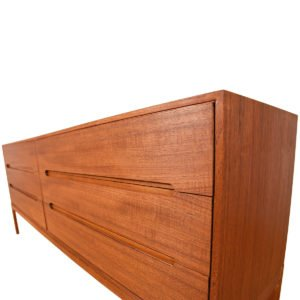 Teak Danish Modern 6-Drawer Dresser