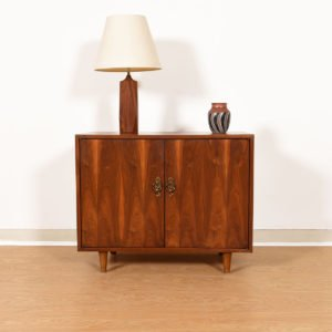 Gorgeous Mid-Century Designer Cabinet in Walnut
