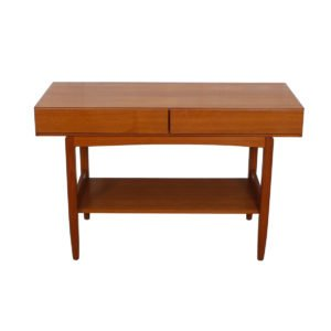 Ib Kofod Larsen Teak Console / Sofa Table for Faarup