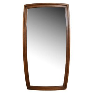 Mid-Century Modern Broyhill Brazilia Walnut Mirror