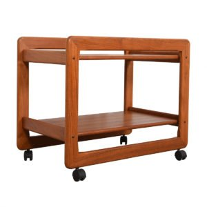 Danish Modern Teak Serving / Bar Cart