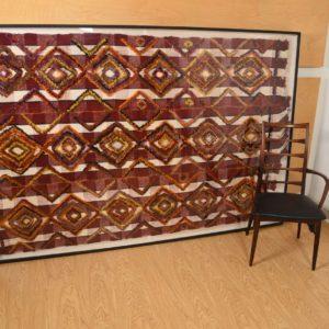 Huge Framed Textile