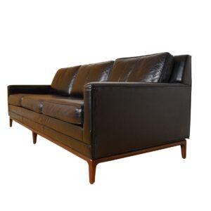 American Modernist – Dunbar Leather Sofa
