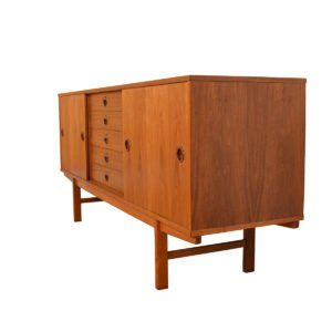 Dux Swedish Modern Sideboard / Credenza in Walnut