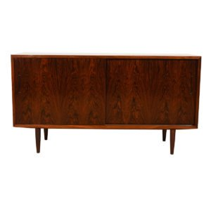 Condo-Sized 55″ Sideboard / Media Cabinet in Rosewood