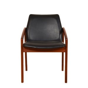 Stunning Set of 6 Teak Danish Modern Dining Chairs